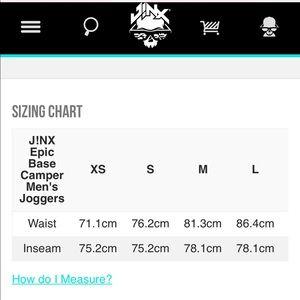 Jinx Pants - Jinx Epic Base Camper Men's Joggers